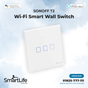 Sonoff T2 UK 3 Gang Switch