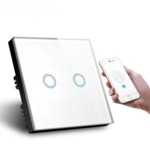 Tuya 2 Gang Smart WiFi Wall Switch featured